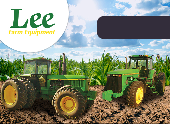 Lee Farm Equipment - Call Us For All Your Farm Equipment Needs!